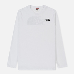 Футболка the north face M L S EASY TEE TNF