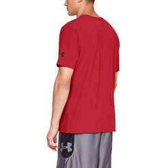 Футболка Under Armour Ua Top Of The Key Ss Tee Red1317934-600 - фото 2