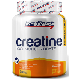 Be First Creatine powder 300 г малина sr756
