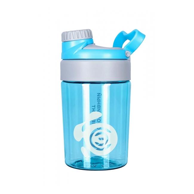 2dтрейд спортивная бутылка для воды s71 400 голубая с серым 400 мл ик массажер для спины