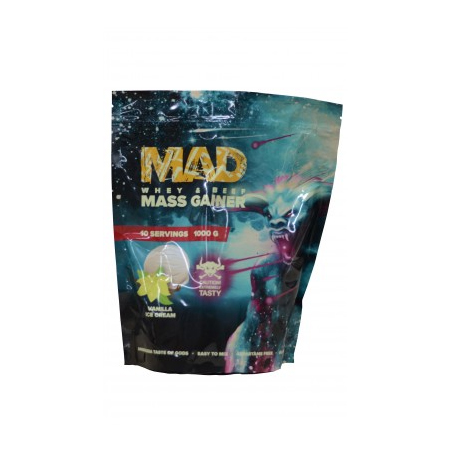 Гейнер MAD MASS GAINER WHEY  BEEF 1000   sr26828