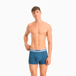 Боксеры (2 шт) Puma Placed Logo Boxer 2p90651905 - фото 3