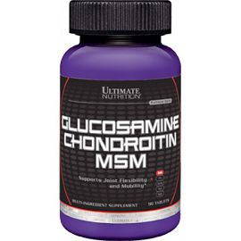 Суставные Ultimate Nutrition Glucosamine/Chondroitin/MSM 90 таб.2289
